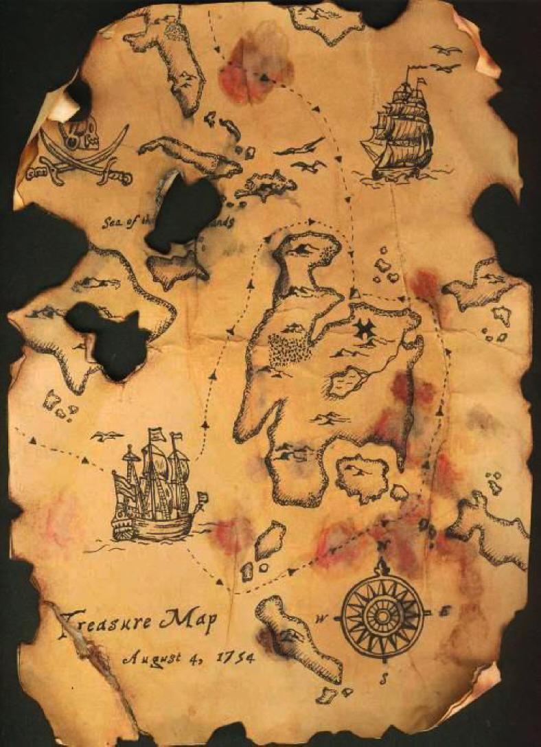treasure map!!